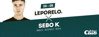 Sebo K – Mobilee Records a klub Watergate v Bratislave