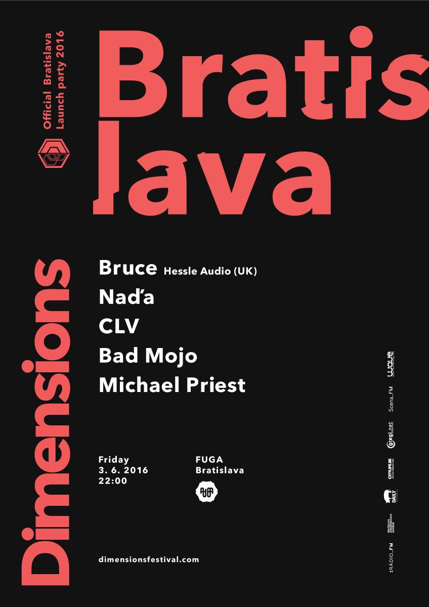 DIMENSIONS Festival launch party prvýkrát v Bratislave
