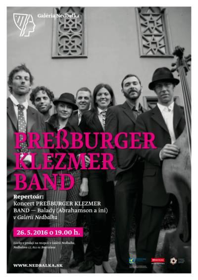 Preßburger Klezmer Band predstavia vNedbalke nový koncertný program Balady