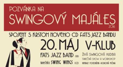 Swingový Majáles – 13.mája v Piešťanoch a 20.mája v Bratislave
