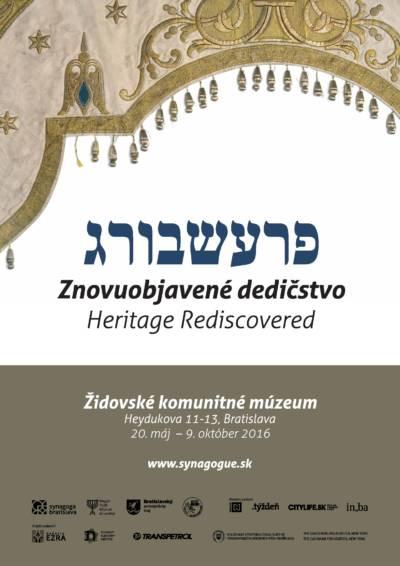 Židovské komunitné múzeum predstaví vzácne poklady bratislavskej minulosti