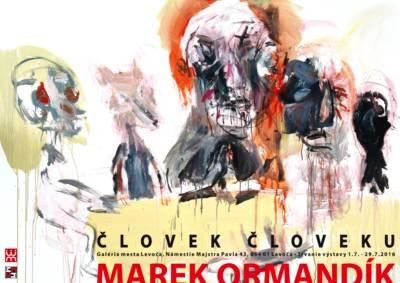 Vlka ako utečenca za plotom aj ako účastníka Poslednej večere prinesie maliar Marek Ormandík do Levoče