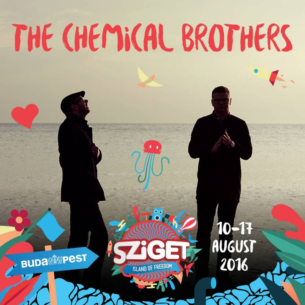 The Chemical Brothers, Tinie Tempah, Editors či BØRNS – Sziget pomaly finalizuje program