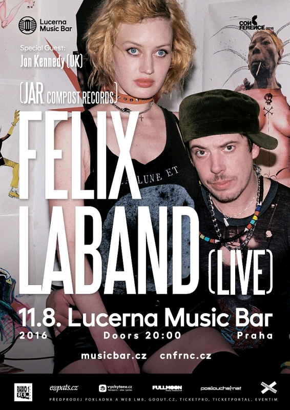 Temný princ elektroniky Felix Laband přijede do Prahy