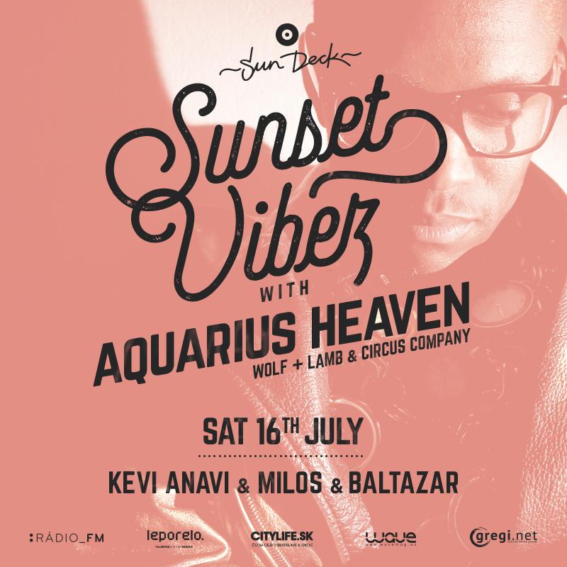 Aquarius heaven vBratislave už túto sobotu