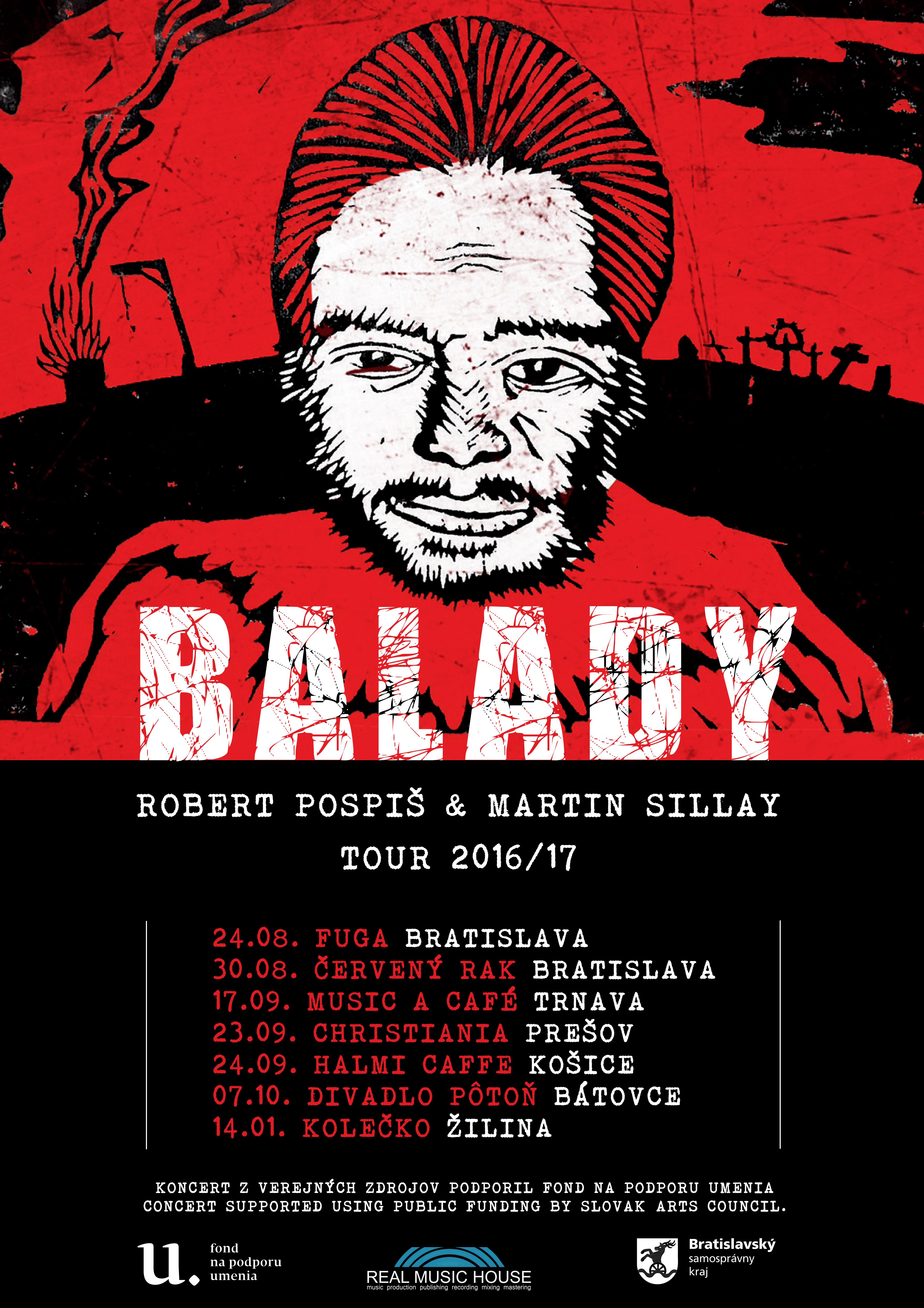Robert Pospiš & Martin Sillay - Balady TOUR