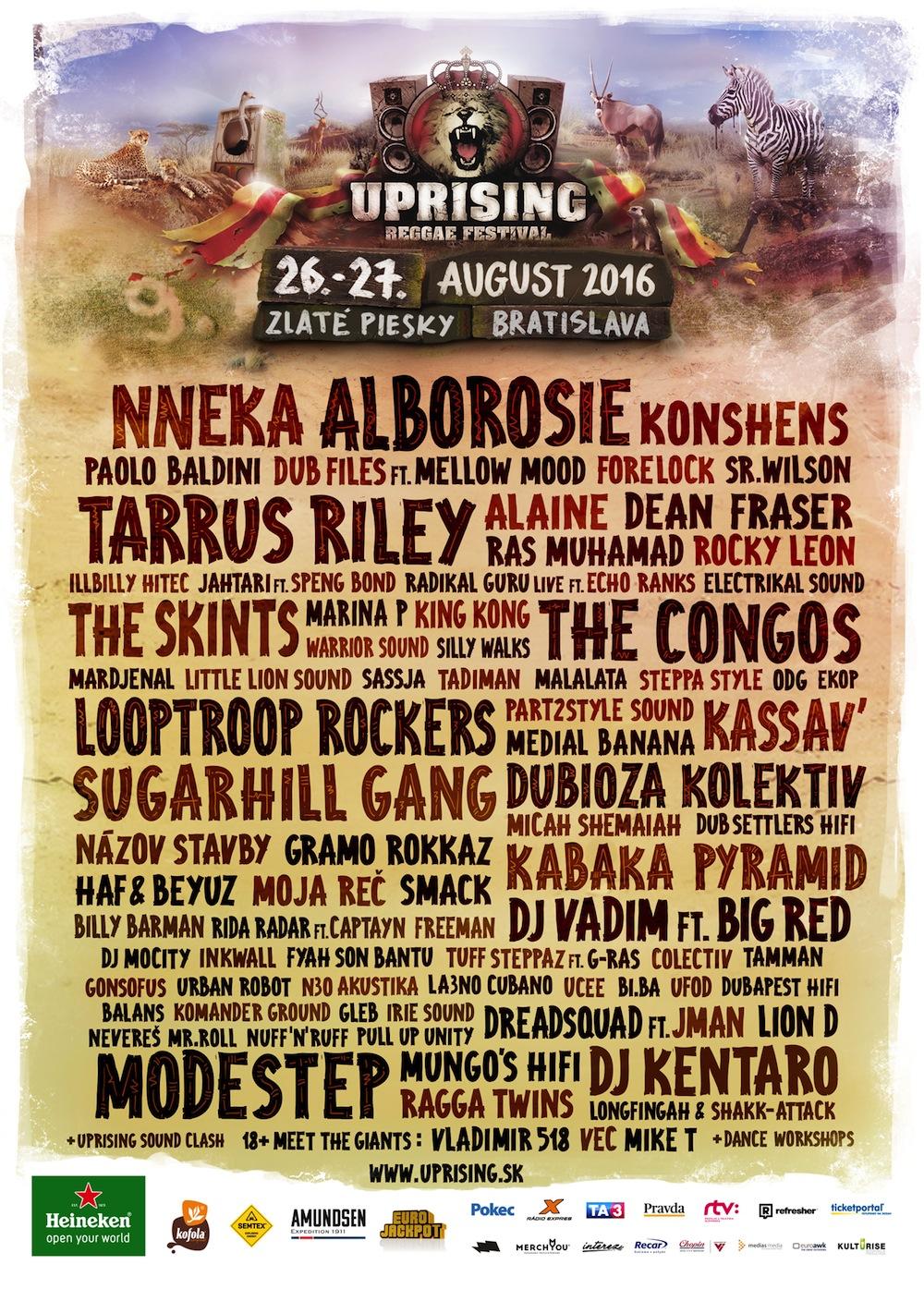 Nalaďte sa na Uprising atmosféru už teraz! Vonku je nový trailer aj ďalšie silné mená reggae a soundsystem scény