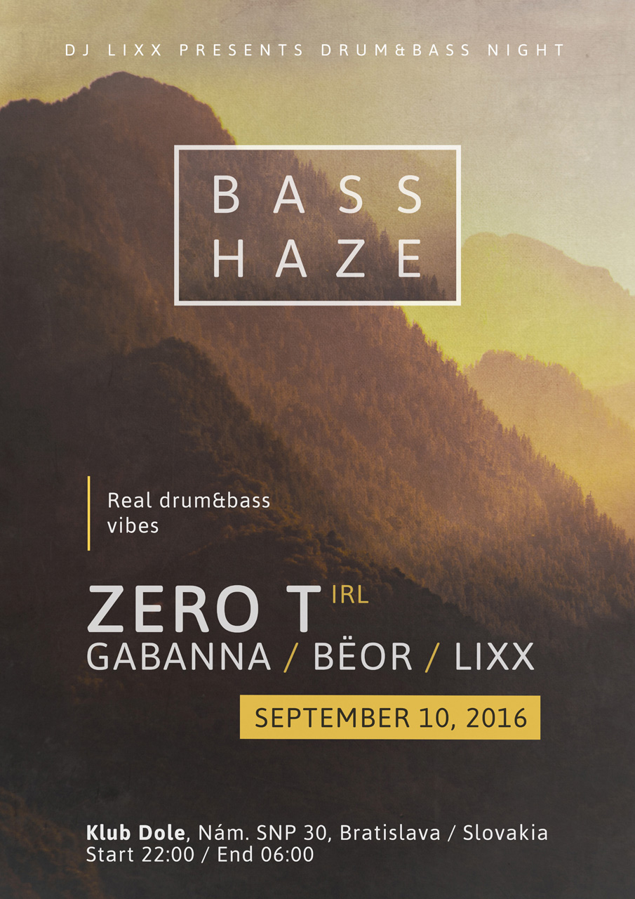 Rozmanité beaty drum&bassového producenta Zero T prídu hlasno a rýchlo