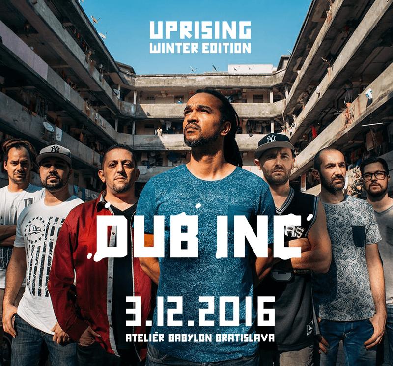 Hviezdami zimného Uprisingu budú The Skints a kultoví Dub Inc