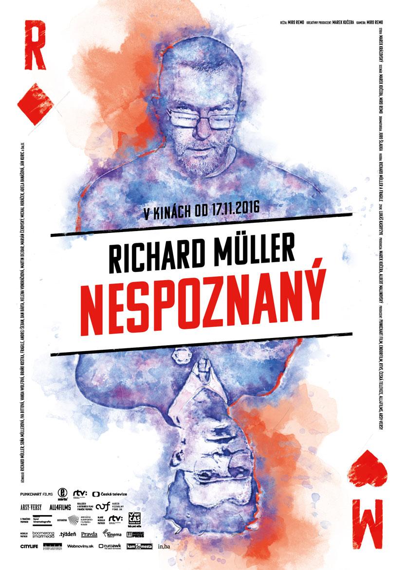 Richard Müller ako Nespoznaný prichádza do kín po celom Slovensku