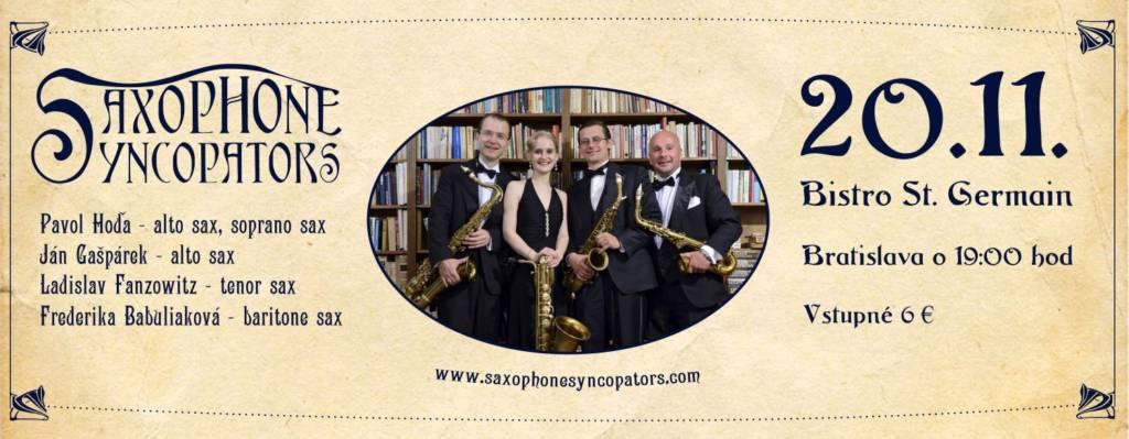 Saxophone Syncopators – Ragtime Night