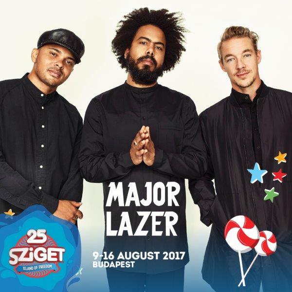Major Lazer, Tom Odell aďalší. Sziget festival zverejňuje prvých 14 mien jubilejného ročníka