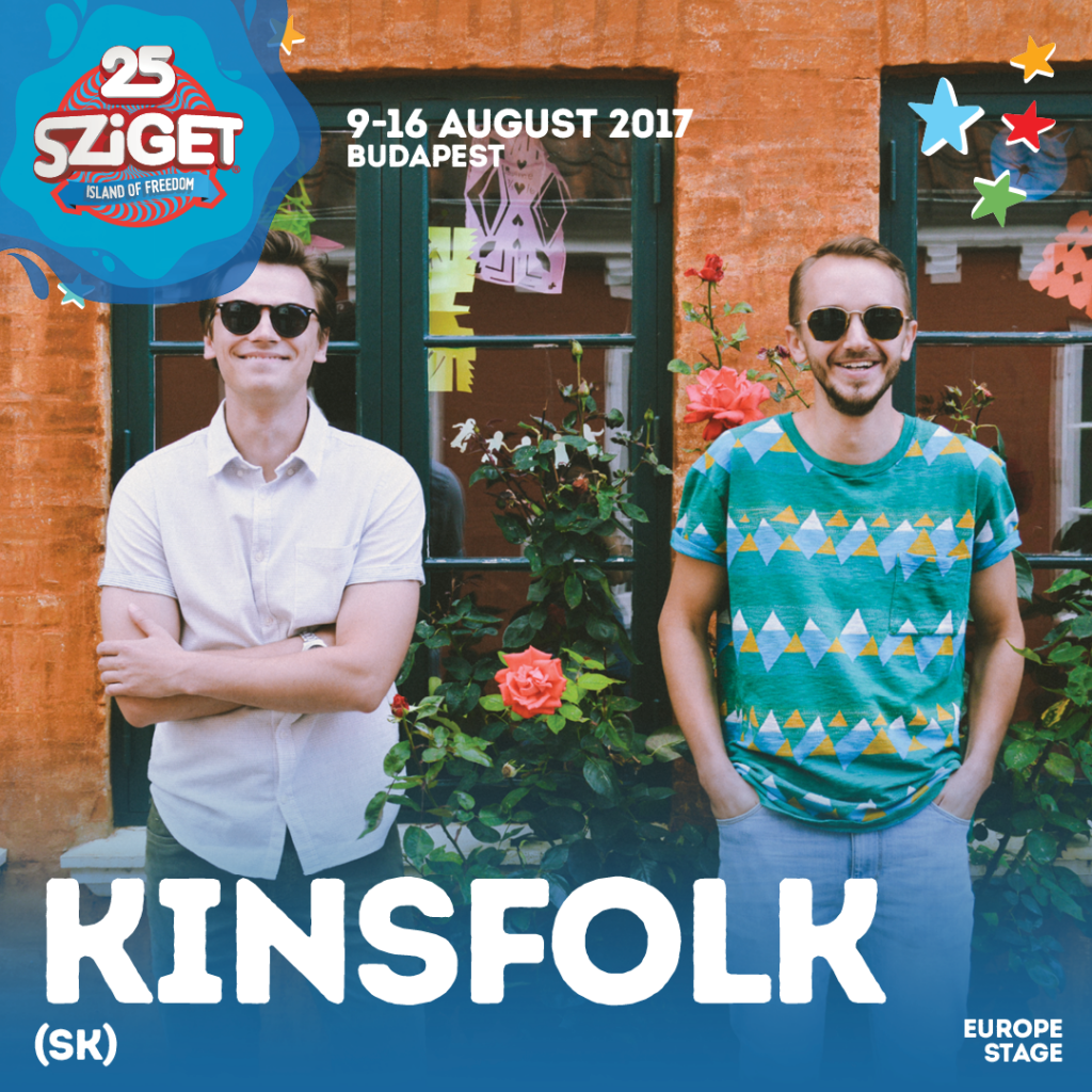 Slovenský Kinsfolk zahrá na Szigete!