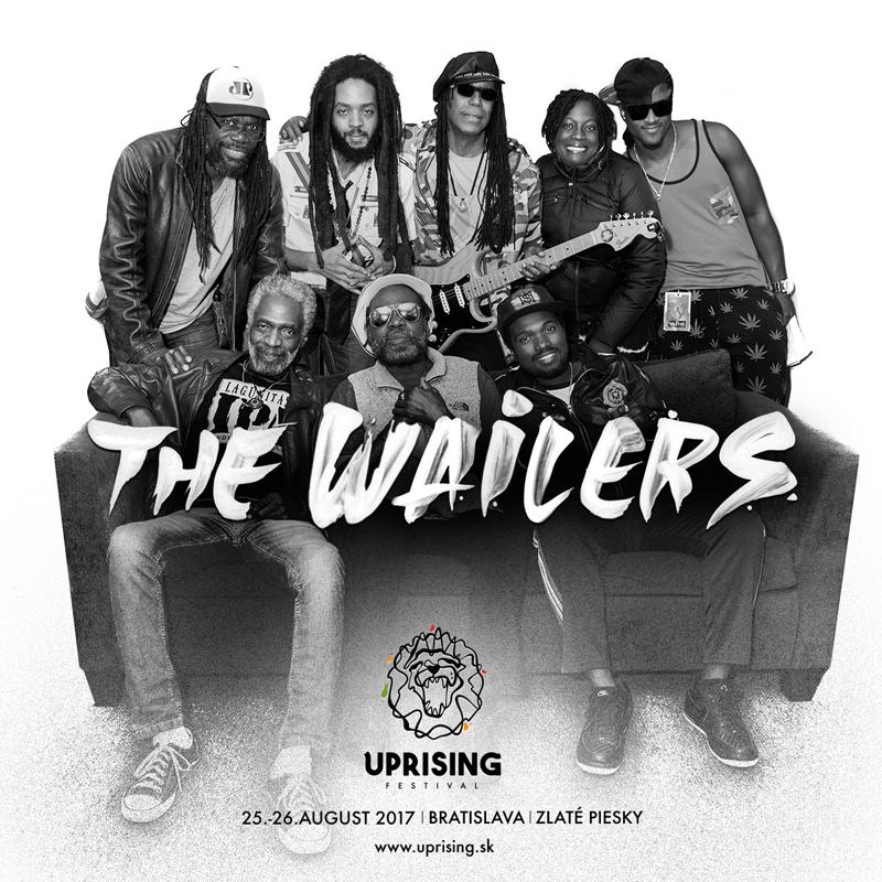 Na Uprising festival prídu The Wailers -Jamajské legendy, ktoré po boku Boba Marleyho preslávili reggae po celom svete