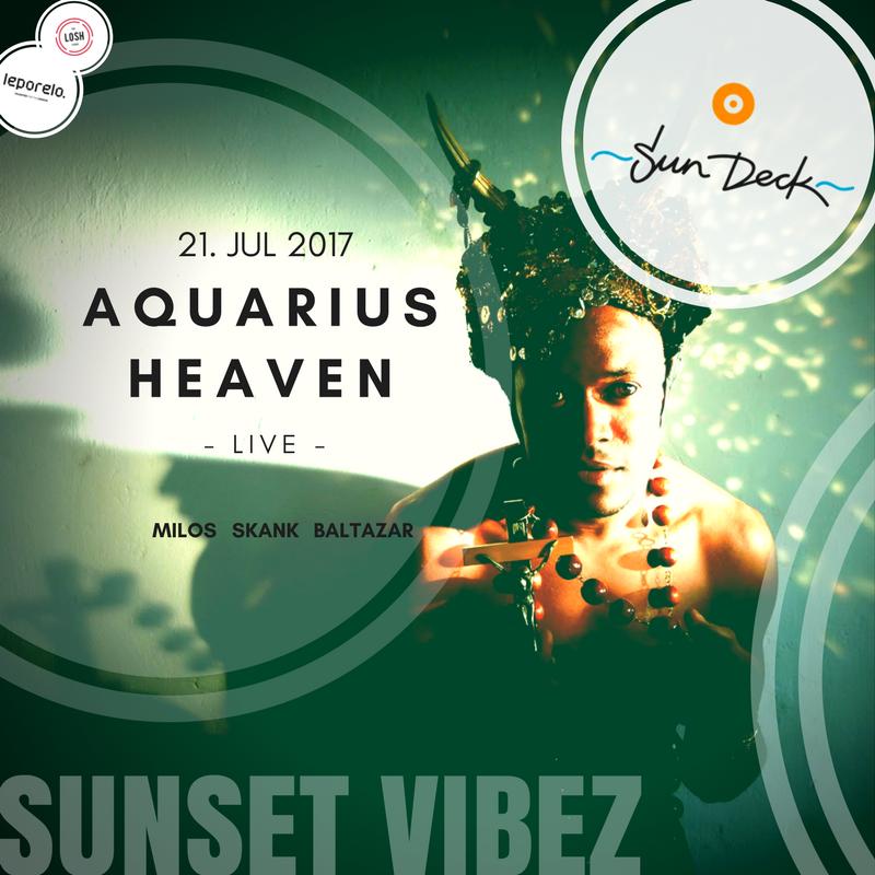Aquarius Heaven na Sun Decku už tento piatok