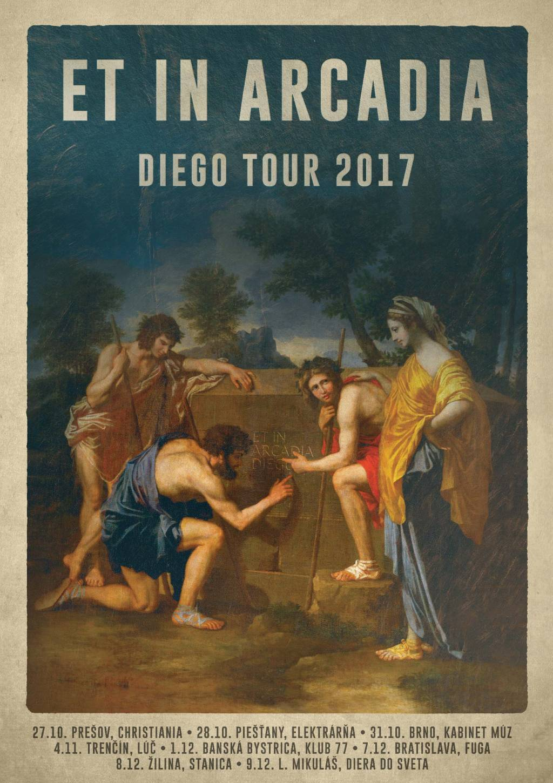 Diego vyrážajú na Et In Arcadia Diego Tour 2017 s dlhoočakávaným novým albumom