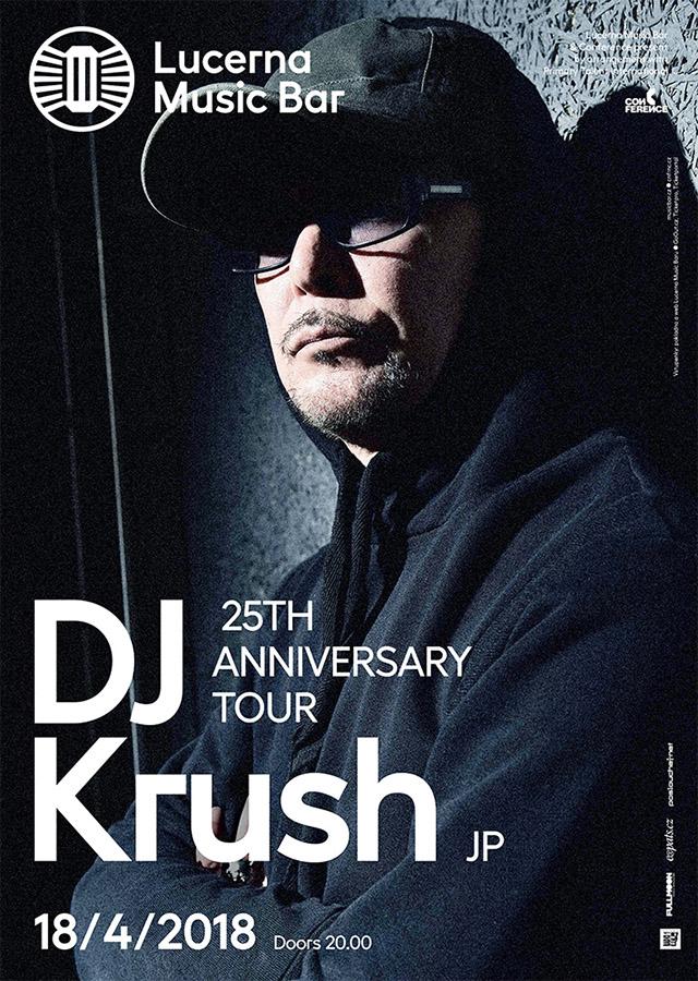 DJ Krush oslaví 25. výročí a přiveze novou desku