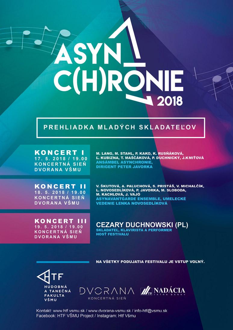 AsynChrónie – prehliadka mladých skladateľov 2018
