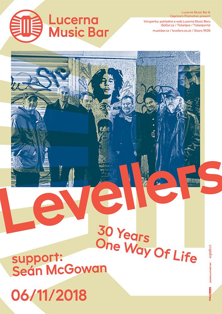 Levellers oslaví v Lucerna Music Baru 30 let