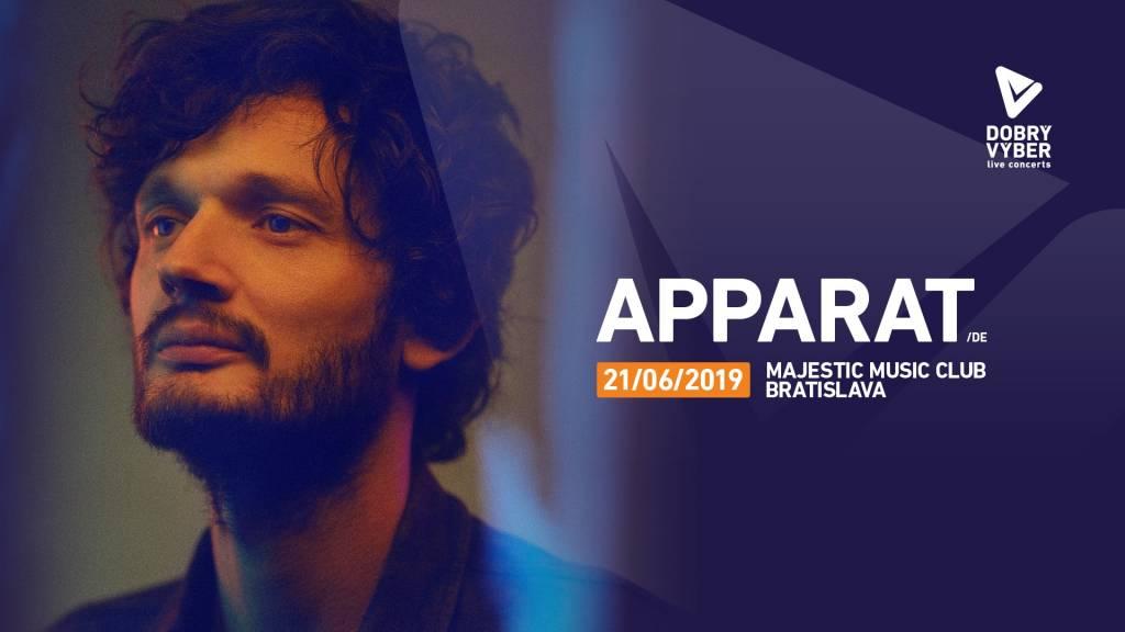 Apparat už v piatok vystúpi v Bratislave, s live zostavou ukáže, ako vyzerá elektro-akustická expedícia za hudobnými náladami